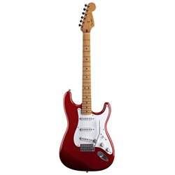 Fender Jimmie Vaughan Tex Mex(TM) StratR Electric Guitar, Candy Apple Red, Maple Fretboard - Fender Musical Instruments Corp. -139202309