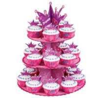 Wilton 1510-1008 Princess Cupcake Stand Kit
