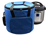 Chloe's Home Travel Bag for Instant Pot (8QT Royal Blue) - Versatile Tote Bag For Small Appliances & More With Carrying Strap, Handles & External Zip Pocket- Instant Pot Accessories For Traveling