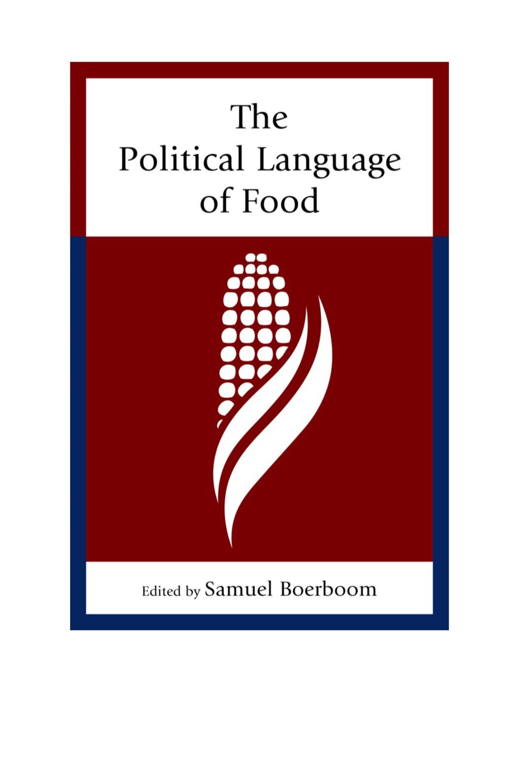 The Political Language Of Food (ebook)