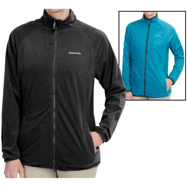 Craghoppers Dawa Fleece Jacket - Reversible (For Women)