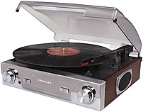 Crosley Cr6005a-ma Tech Turntable Audio System - Mahogany
