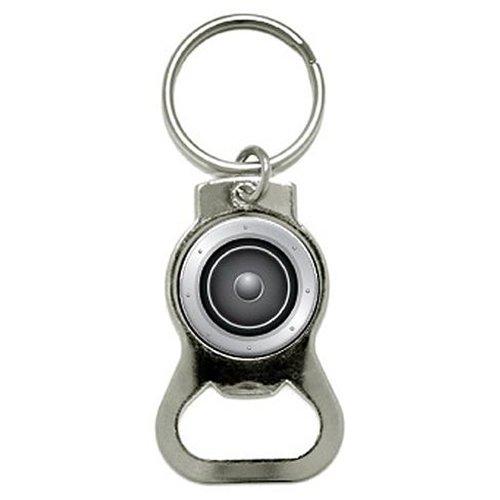 SPEAKER MUSIC - Bottle Cap Opener Keychain Ring