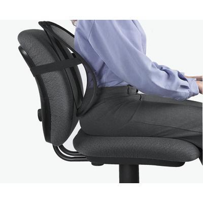 Fellowes 8036501 Office Suites Mesh Back Support - Backrest - Black