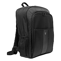 "V7 Professional Cbp21-9n Carrying Case (backpack) For 16"" Notebook, Tablet, Smartphone, Business Card, Pen, Key - Weather Resistant Interior, Moisture Resistant Handle - Nylon - Shoulder Strap, Handle - 17.5"" Height X 12.5"" Width X 5"" Depth"
