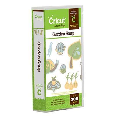 Provo Craft And Novelty 2001322 Cricut Garden Soup Cartridge