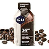 GU Energy Original Sports Nutrition Energy Gel, Espresso Love, 24 Count