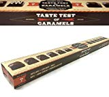 Trader Joe's - Taste Test of Caramels - Chocolate Covered Caramel Taste Testing Kit Featuring 12 Distinct Flavor Profiles, Net Wt 6.3 Oz