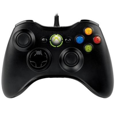 Microsoft 52a-00004 Xbox 360 Controller For Windows - Gamepad - Wired - Black - For Pc   Xbox 360