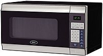 The Oster CULAM780SS Countertop Microwave Oven has 700 watt of total cooking power and 10 adjustable power levels for customized cooking