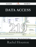 Data access' characteristically alludes to code and doings associated to keeping, recovering, either performing on information accommodated in a database either different depository
