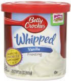 Betty Crocker Ready To Serve Frosting, Whipped Vanilla-12 OZ