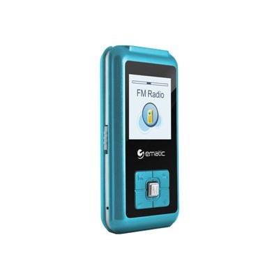 E-matic Em208vidbu Em208vid - Digital Player - 8 Gb - Blue