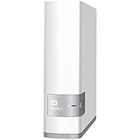 """Wd 8tb My Cloud Personal Network Attached Storage - Nas - Wdbctl0080hwt-nesn - Arm Cortex A9 Dual-core (2 Core) - 1 X Total Bays - 8 Tb Hdd - 1 X 3.5"""" Bay - Gigabit Ethernet - Network (rj-45) - My Cloud Os - Upnp - Desktop"""