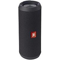 Jbl Flip 3 Speaker System - 16 W Rms - Wireless Speaker(s) - Portable - Battery Rechargeable - Table Mountable - Black - 85 Hz - 20 Khz - Bluetooth - Usb - Wireless Audio Stream, Passive Radiator, Built-in Microphone, Noise Cancelling, Echo Cancellation, Jblflip3blk