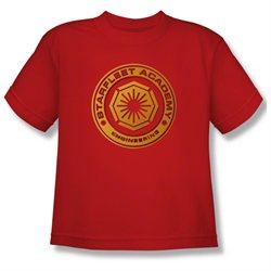 Youth(8-12yrs) STAR TREK Short Sleeve ENGINEERING Large T-Shirt Tee