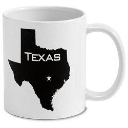 State Silhouette Mug 11oz