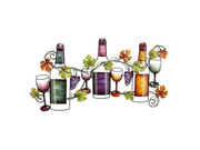 Metal Wine Wall Decor 63546