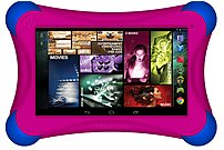 Visual Land Prestige Elite 7q Famtab Me7q16gbfmag 7-inch Tablet Pc With Google Play And Safety Bumper Bundle - 1.2 Ghz Quad-core Processor - 1 Gb Ddr3 Ram - 16 Gb Internal Storage - Android 4.4 Kitkat - Magenta