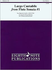 Largo Cantabile (from Flute Sonata No. 1): Part(s)