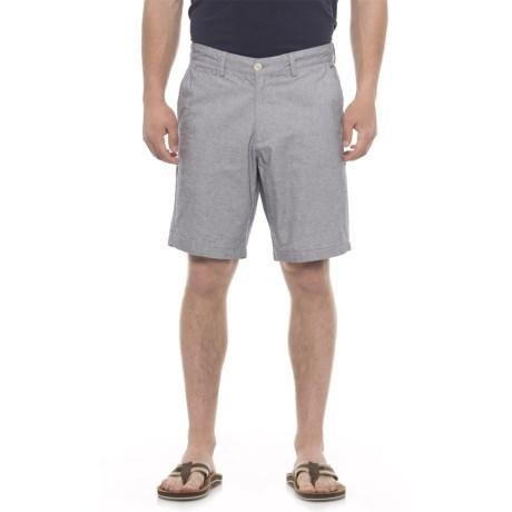 Garment-washed End-on-end Shorts (for Men)