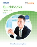 QuickBooks Premier 2013 Level 1 teaches you how to perform daily accounting tasks in the General Ledger, Accounts Receivable, Accounts Payable, and Payroll