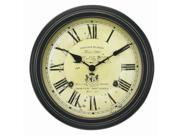 Acu-rite Chaney Instruments 18-inch Vintage Port Wine Wall Clock