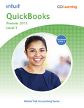 QuickBooks Premier 2015 Level 1 teaches you how to perform daily accounting tasks in the General Ledger, Accounts Receivable, Accounts Payable, and Payroll
