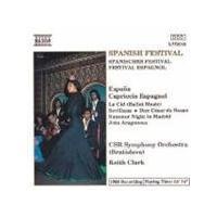 VARIOUS COMPOSERS - Spanish Festival (Clark, CSR Symphony Orchestra)