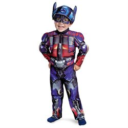 Transformers Optimus Prime Toddler/Child Muscle Costume