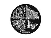 Fashion Diy Nail Art Image Stamp Stamping Plates Manicure Template 9 Styles 04#