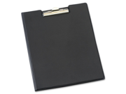 "Cardinal 252610 Sealed Vinyl Clip Padfolio, Letter - 8 1/2"" x 11"" Sheet Size - 100 Sheets Capacity, Black - 1 Each Type: Basic Binders Color: Black Sizes/Dimensions: 12.40"" x 9.40"" x 0.50""  Weight (Approximate): 0.89 lb"