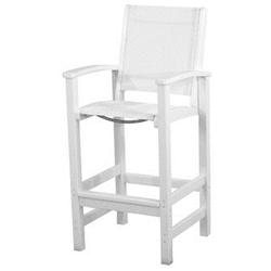Coastal Bar Chair - Finish: White