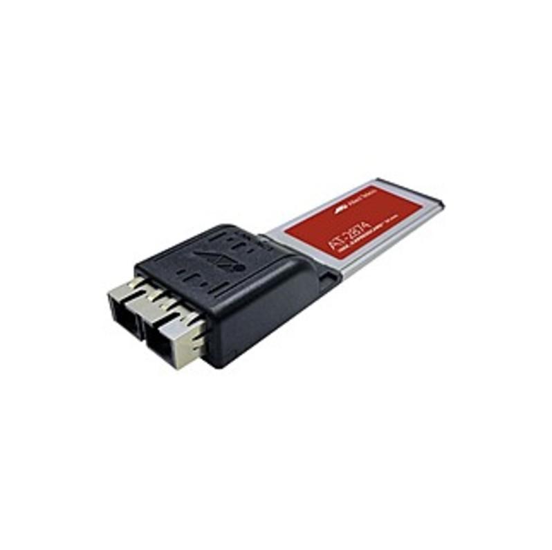 Allied Telesis Gigabit Expresscard/34 With Sc Connector - Expresscard - 1 Port(s) - 1 X Sc Port(s) - Optical Fiber