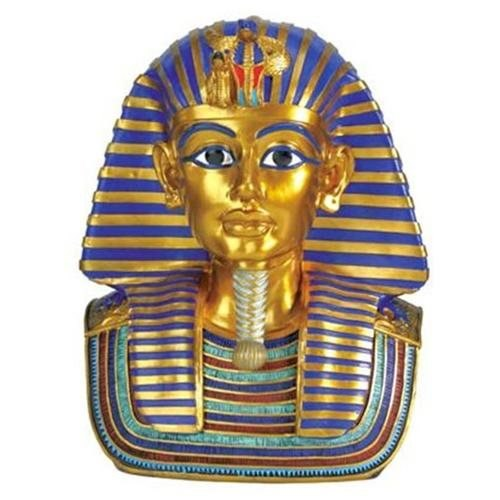 YTC SUMMIT 7290 Gorgeous King Tut Bust Figurine Statue