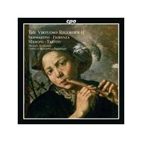Virtuoso Recorder 2: Sammartini, Fiorenza, Mancini, Tartini (Music CD)