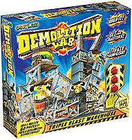 The mind blowing Demolition SL12357 Lab lets kids build unlimited warehouse structures and then demolish them with strategically placed blasters, all while getting inside the science of energy, momentum and gravity.