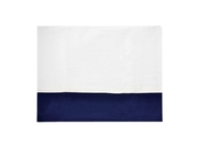 Carters Navy Crib Skirt