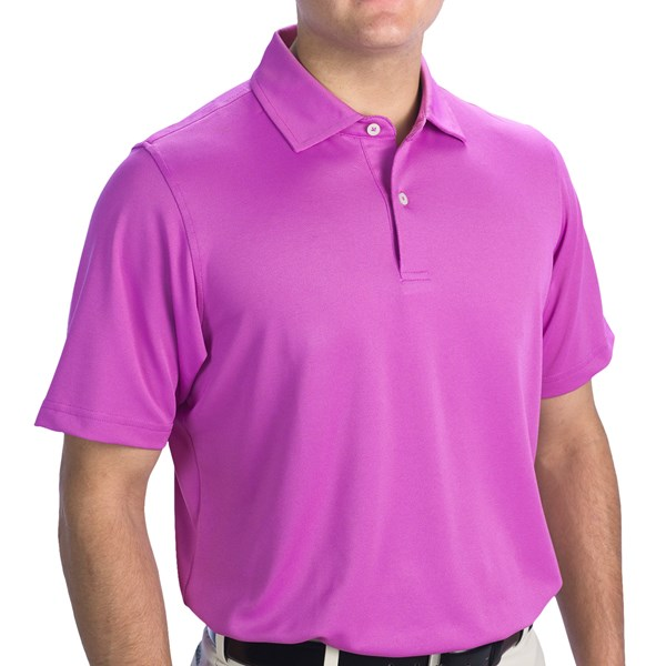 Fairway and Greene Solid Tech Polo Shirt - Short Sleeve (For Men)