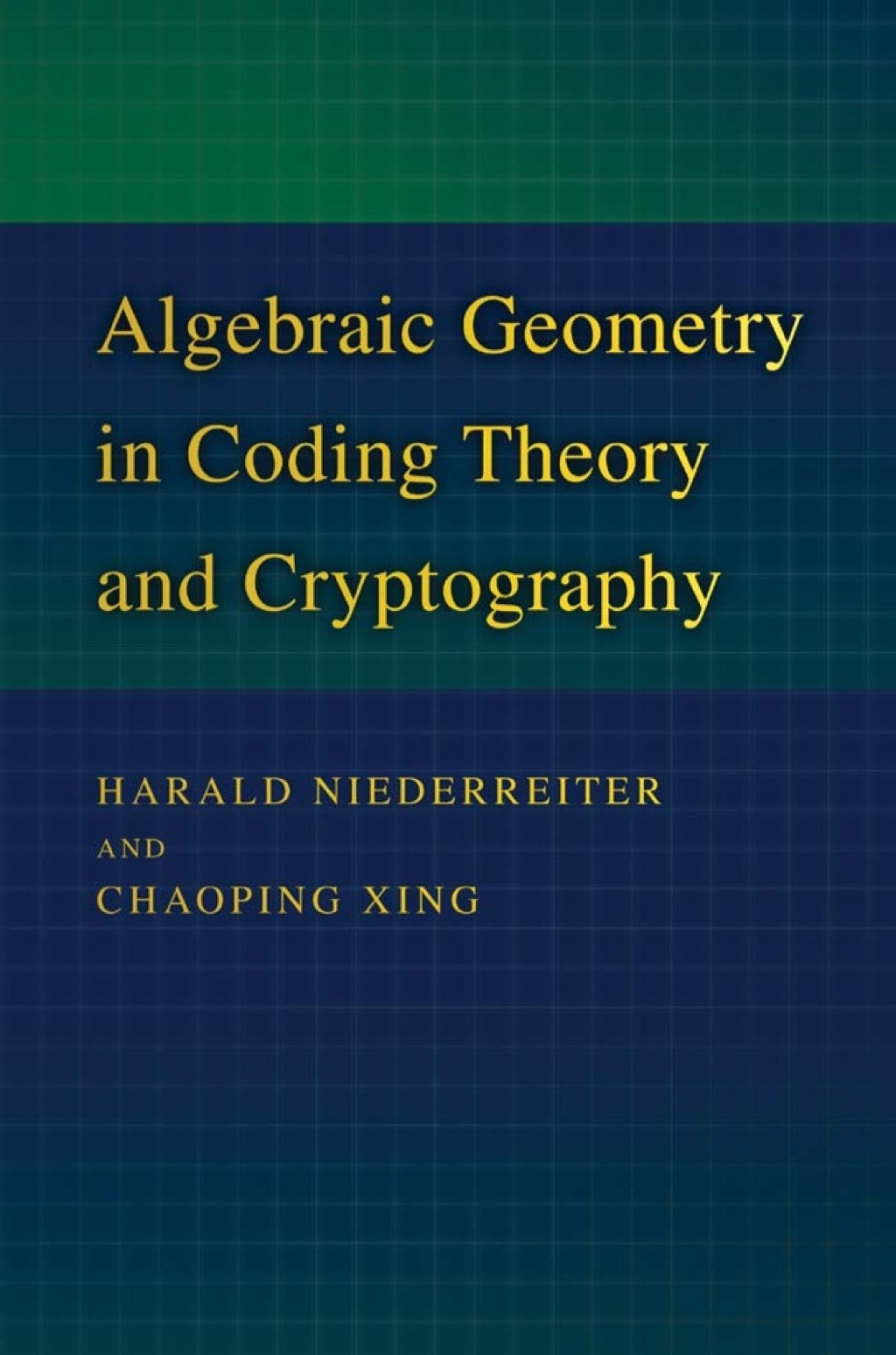 Algebraic Geometry In Coding Theory And Cryptography (ebook)