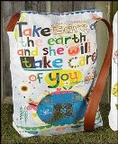 Take Care of the Earth Tote Bag Carolyn GavinChristian Brands Gift Pack of 2