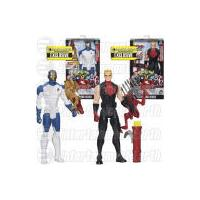 Marvel Avengers Age of Ultron Titan Heroes Iron Man and Hawkeye Deluxe Electronic Entertainment Earth Exclusive Action Figures