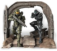 Microsoft Cv4-00004 Halo 5 Limited Collector's Edition - First Person Shooter For Xbox One - Commemorative Statue Of The Master Chief And Spartan Locke By Triforce - Digital Download - No Disc
