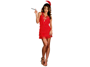 Women's Sexy On the Fringe Flapper Costume
