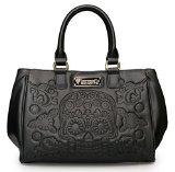 Loungefly Black Embossed Sugar Skull Fashion Tote Bag