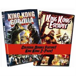 King Kong vs. Godzilla/King Kong Escapes 2pk