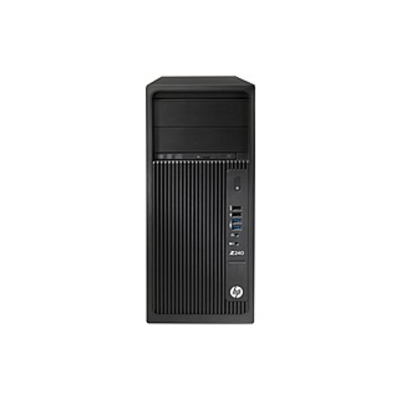 Hp Z240 Workstation - 1 X Intel Core I7 (6th Gen) I7-6700 Quad-core (4 Core) 3.40 Ghz - 16 Gb Ddr4 Sdram - 512 Gb Ssd - Windows 10 Pro 64-bit (english