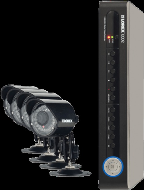 Lorex Lh1888 8-channel 4-camera With Dvr And Mobile Connect Security System