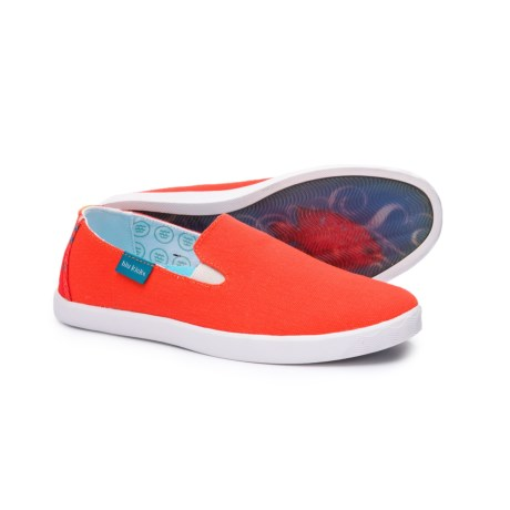 Baja Canvas Sneakers - Slip-ons (for Women)