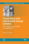 Stand-alone And Hybrid Wind Energy Systems: Technology, Energy Storage And Applications
